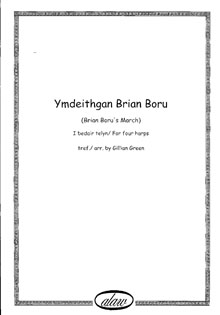 Brian Boru's March Arranged for Four Harps - Gillian Green