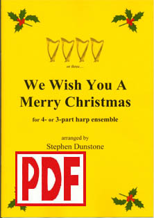 We Wish You a Merry Christmas - Download - 4 part ensemble - Stephen Dunstone