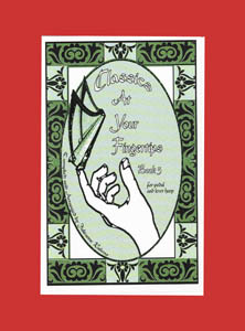 Classics At Your Fingertips Book 3 for Pedal and Lever Harp - Julieanne Rabens