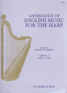 Anthology of English Music for the Harp Volume 2 - Edited David Watkins