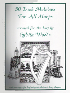 50 Irish Melodies For All Harps Arranged For the Harp - Download - Sylvia Woods