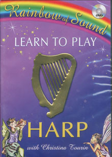 Learn play harp dvd