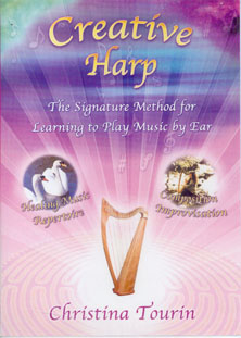 Creative Harp Vol 3 (Aeolian Mode) DVD - Christina Tourin