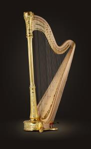 Style 11 Gold Pedal Harp