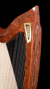 Dusty Strings Abalone Celtic Inlay for FH36 and FH34