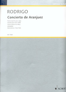 Concierto de Aranjuez for Harp and Orchestra - Joaquin Rodrigo