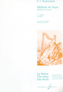 Method For The Harp Vol 2 - F. J. Naderman