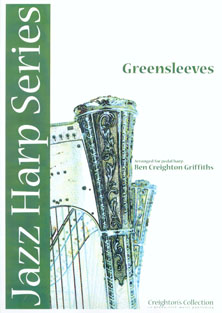 Greensleeves - Arranged for Pedal Harp by Ben Creighton Griffiths