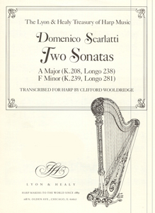 Two Sonatas - Domenico Scarlatti / Clifford Wooldridge