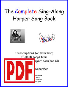 The Sing-Along Harper - Download - by Verlene Schermer