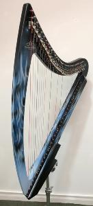 Second Hand Camac DHC True Fire Blue Electro 32 Harp