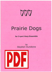 Prairie Dogs for Three Harps - Download - Stephen Dunstone
