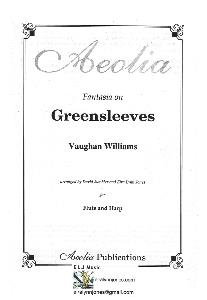 Fantasia on Greensleeves, Vaughan Williams Arranged for Flute and Harp by Eira Lynn Jones