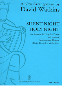 Silent Night Holy Night - Arranged for Soprano and Harp by David Watkins