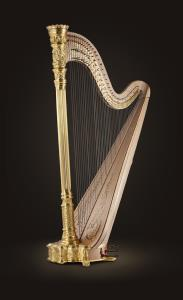Style 23 Gold Pedal Harp