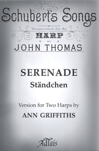 Schubert Serenade (2 Harps) - Transcribed by John Thomas