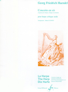 Concerto in Bb Major (ABRSM Lever Harp) - G F Handel - LeDentu