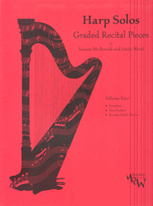 Harp Solos: Graded Recital Pieces Volume 4 - Susann Mcdonald And Linda Wood