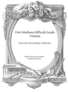 Clive Morley Collection Med-Difficult Grade Vol 1 - Edited by David Watkins