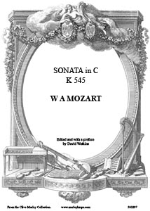 Sonata in C K 545 - Download- W A Mozart