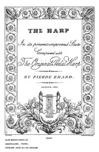 The Harp: In its Present Improved State Compared With the Original Pedal Harp - DOWNLOAD P Erard