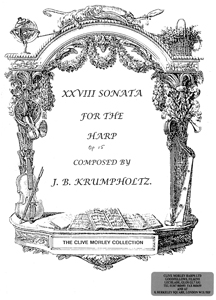 Sonata XVIII For the Harp Op. 15 No. 1 - J B Krumpholtz