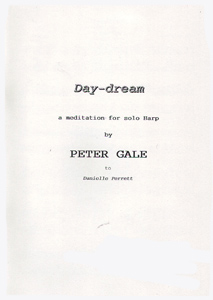 Day Dream: A Meditation for Solo Harp - Peter Gale