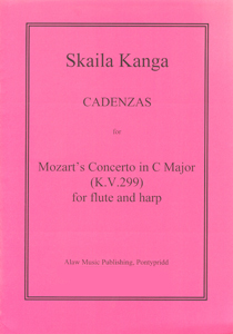 Cadenzas for Mozart's Concerto in C Major (K V 299) for Flute and Harp - Skaila Kanga