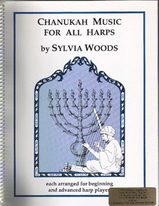 Chanukah Music for All Harps - Download - Sylvia Woods