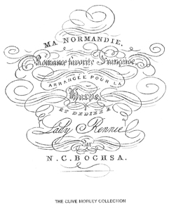 Ma Normandie - Download - arr N. C. Bochsa