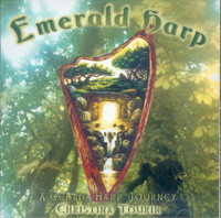 Emerald Harp CD - Christina Tourin