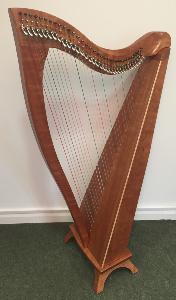 FH 34 in Cherry with Gut Strings and Camac Levers - in Stock