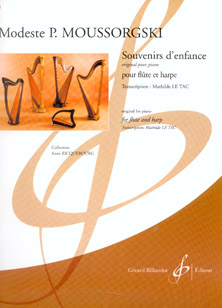Souvenirs d'enfance by Modest Mussorgksi - Arranged for Flute and Harp by Mathilde Le Tac