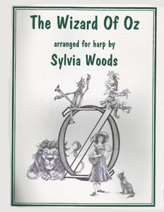 The Wizard Of Oz - Arranged for Harp by Sylvia Woods