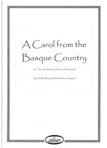 A Carol From the Basque Country - Arranged for Two Harps, Flute and Clarinet by Meinir Heulyn