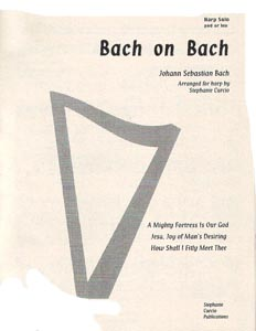 Bach On Bach - Stephanie Curcio