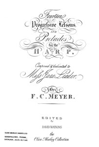 14 Progressive Lessons and Preludes For the Harp (c.1820) - Download - F.C. Meyer