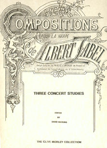 3 Concert Studies - Albert Zabel