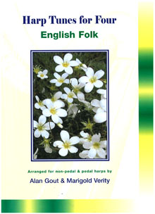 Harp Tunes for Four: English Folk - Arranged by Alan Gout and Marigold Verity