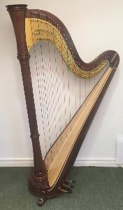Orpheus 47 Pedal Harp in Walnut - in Stock