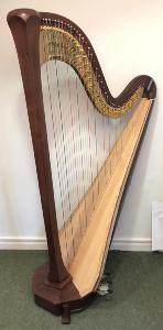 Style 30 Pedal Harp - Walnut - 21832 - In Stock