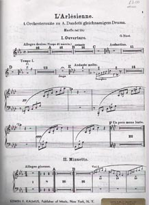 L'Arlesienne Suite No.1 - G. Bizet SALE COPY