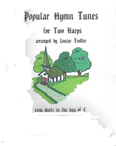 Popular Hymns For Two Harps - Arranged by Louise Trotter