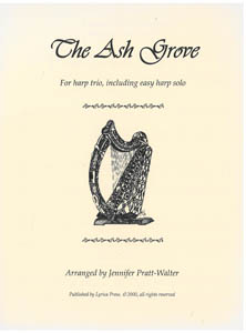 The Ash Grove - Arranged for Harp Trio by Jennifer Pratt-Walter