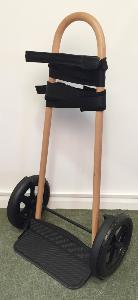 Salvi Pedal and Lever Harp Trolley