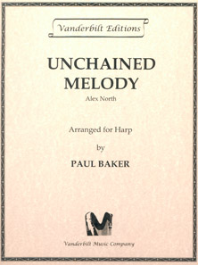 Unchained Melody by Alex North / Arranged for Harp by Paul Baker