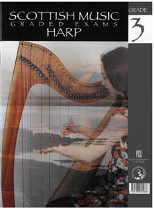 Scottish Music Harp Graded Exams for Harp - Grade 3