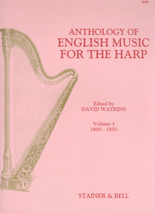 Anthology of English Music for the Harp Volume 4 - Edited David Watkins
