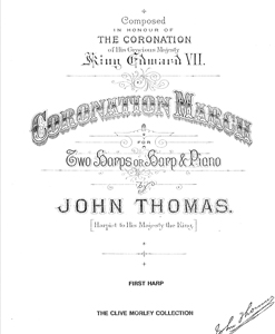 Coronation March for 2 Harps or Harp and Piano - Download - John Thomas