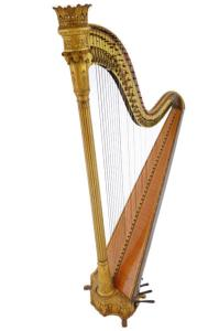 Erard Freres Double Action Pedal Harp